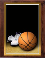 "6"" x 8"" Full Color Basketball Plaque VL68-MP302B"