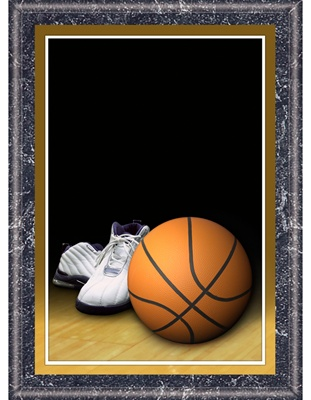 8 X 10 Basketball Plaque Wood Basketball Plaque Express