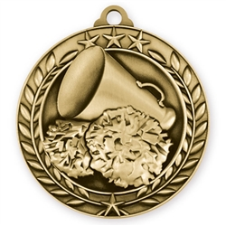 "1 3/4"" Cheerleading Medal"
