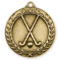 "1 3/4"" Field Hockey Medal"