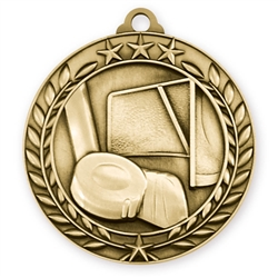 "1 3/4"" Hockey Medal"
