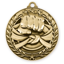 "1 3/4"" Martial Arts Medal"