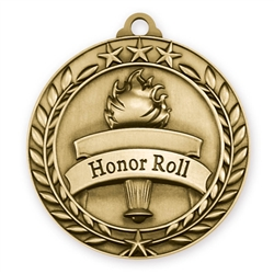 "1 3/4"" Honor Roll Medal"