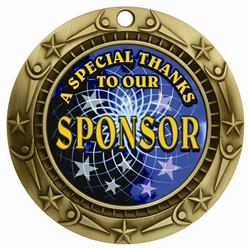"3"" WCM Full Color Sponsor Medal WCMB-FCL556"