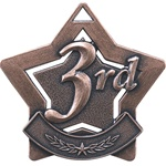 "2-1/4"" Star Series Third Place Medal XS203"