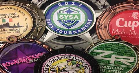 Custom Medals | Color Logo Medals | Express Medals
