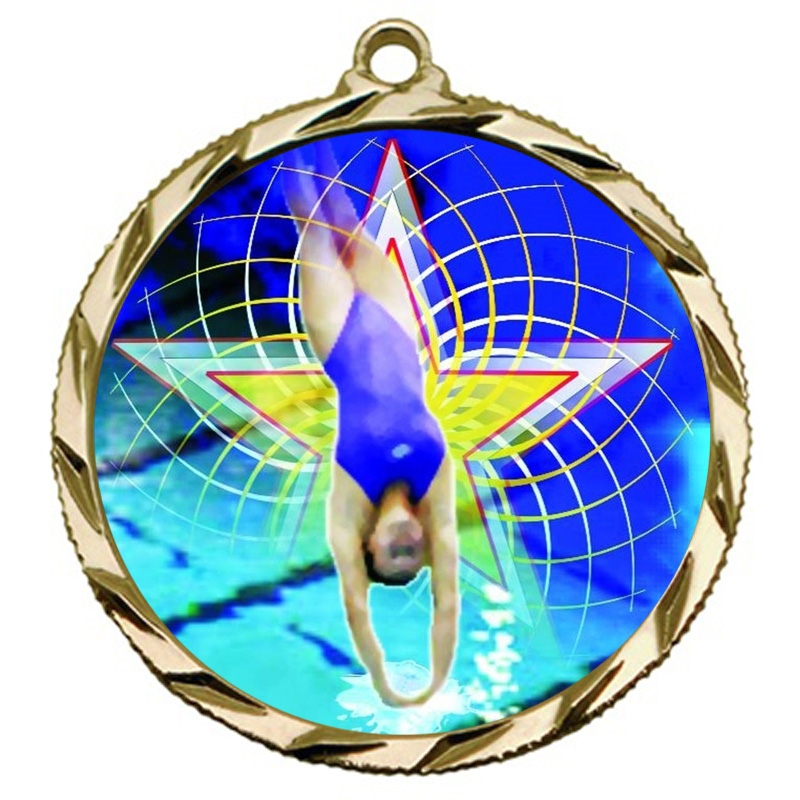 Female Diving Medal