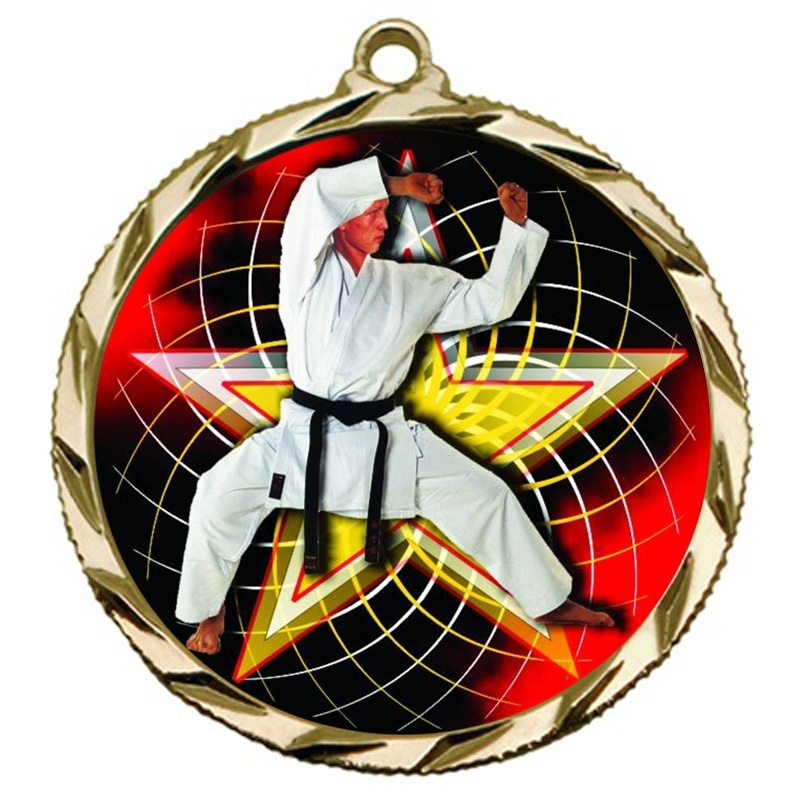 Martial Arts Karate Medal