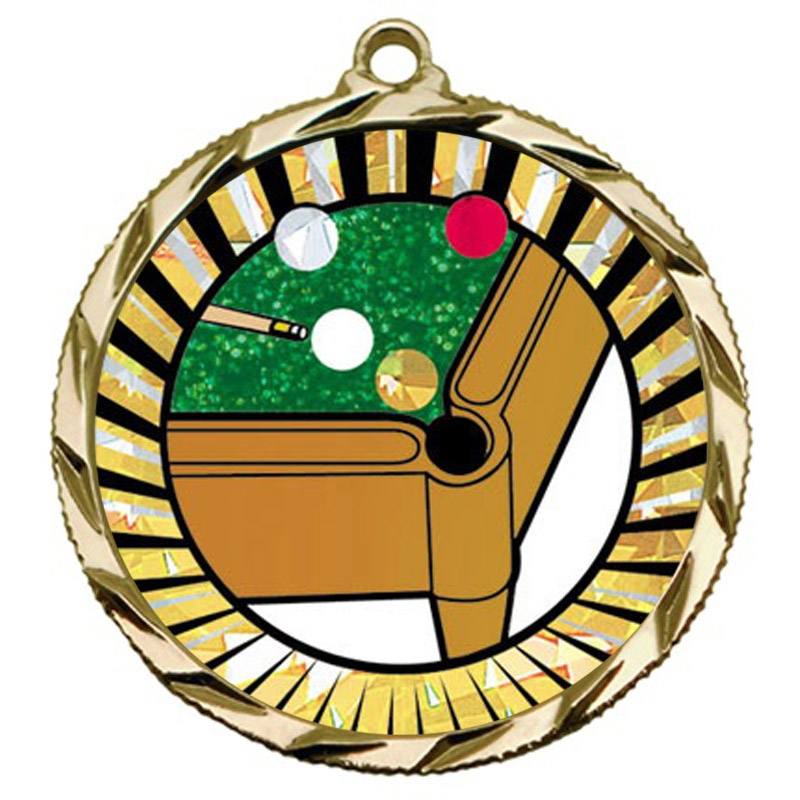 SUN Billiards Pool Medal