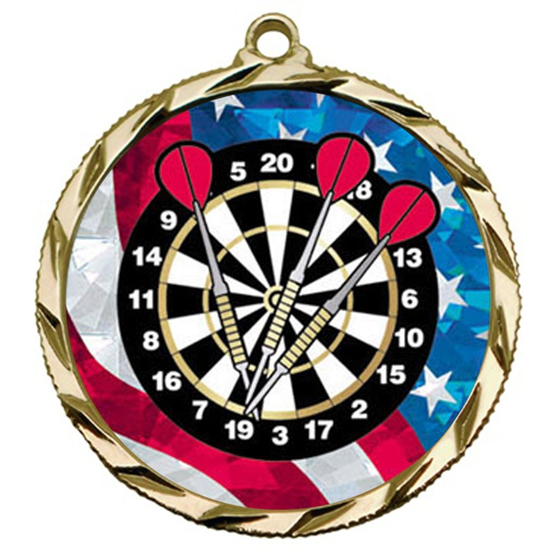 USA Darts Medal