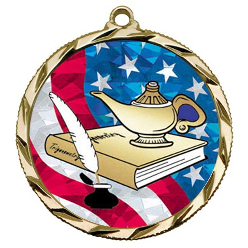 USA Lamp of Knowledge Medal