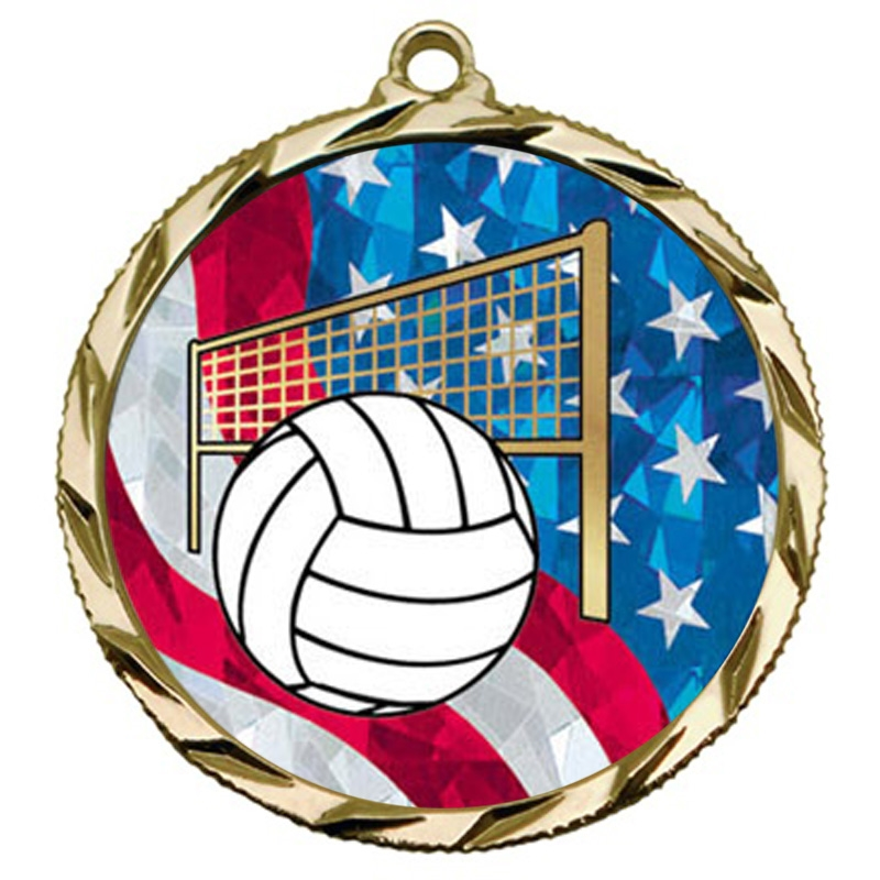 USA Volleyball Medal