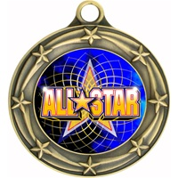 "3"" Star Full Color All Star Medals 033A-FCL-402"