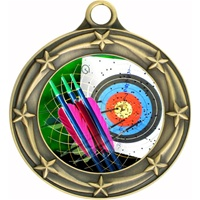 "3"" Star Full Color Archery Medals 033A-FCL-404"