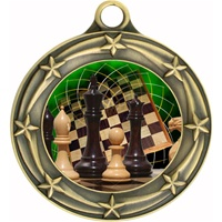 "3"" Star Full Color Chess Medals 033A-FCL-440"