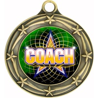 "3"" Star Full Color Coach Medals 033A-FCL-442"