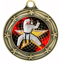 "3"" Star Full Color Martial Arts Medals 033A-FCL-502"