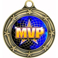 "3"" Star Full Color MVP Medals 033A-FCL-518"