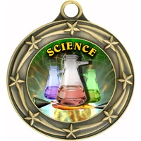 "3"" Star Full Color Science Medals 033A-FCL-534"