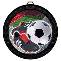 "2-1/2"" Color Soccer Cleat Medal 052-FCL41"