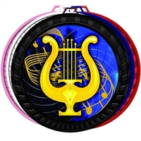 "2-1/2"" Color Music Medal 052-FCL516"