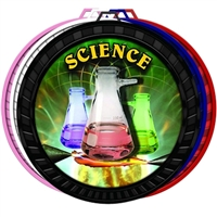 "2-1/2"" Color Science Medal 052-FCL534"