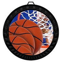 "2-1/2"" Color Basketball Medal 052-FCL8"