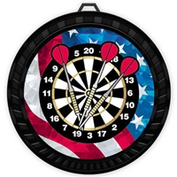 "2-1/2"" Color USA Darts Medal 052-MY507"