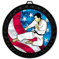 "2-1/2"" Color USA Martial Arts Medal 052-MY514"