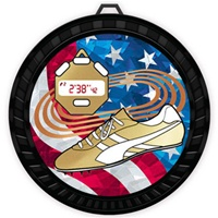 "2-1/2"" Color USA Track Medal 052-MY521"