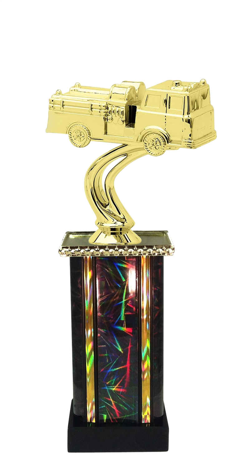 Firetruck Trophy in 11 Color Options