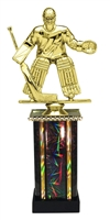 Moonbeam Column Riser Male Hockey Trophy in 11 Color Options