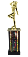 Moonbeam Column Riser Tap Dance Trophy in 11 Color Options