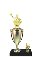 1st - 5th Place Cup Riser Waterpolo Trophy