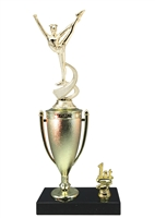 1st - 5th Place Cup Riser Dance Trophy