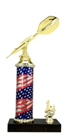1st - 5th Place Flag Riser Darts Trophy
