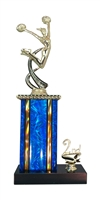 1st - 5th Place Moonbeam Riser Cheerleading Trophy in 11 Color Options