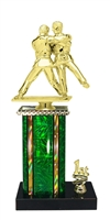 1st - 5th Place Moonbeam Riser Male Judo Trophy in 11 Color Options