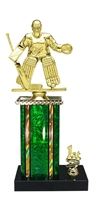 1st - 5th Place Moonbeam Riser Female Hockey Trophy in 11 Color Options