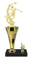 1st - 5th Place Star Riser Female Volleyball Trophy in 3 Sizes