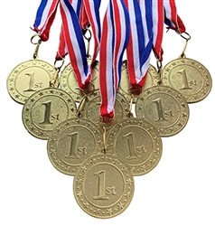 "10 pack of 2"" Express Series 1st Place Medal 10pk-DSS01"
