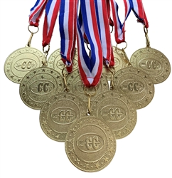 "10 pack of 2"" Express Series Cross Country Medal 10pk-DSS010"