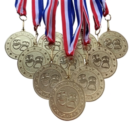 "10 pack of 2"" Express Series Drama Medal 10pk-DSS012"