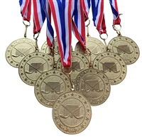 "10 pack of 2"" Express Series Hockey Medal 10pk-DSS015"