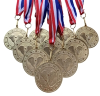 "10 pack of 2"" Express Series Lacrosse Medal 10pk-DSS017"