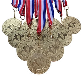 "10 pack of 2"" Express Series Martial Arts Medals 10pk-DSS019"