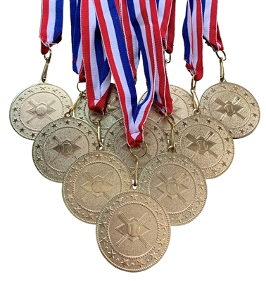 "10 pack of 2"" Express Series Baseball Medal 10pk-DSS05"