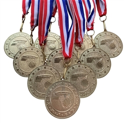 "10 pack of 2"" Express Series Basketball Medal 10pk-DSS06"