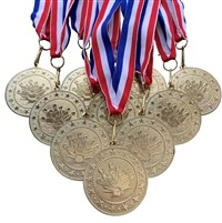 "10 pack of 2"" Express Series Bowling Medal 10pk-DSS07"