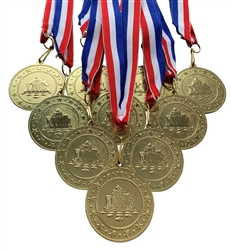 "10 pack of 2"" Express Series Chess Medal 10pk-DSS08"